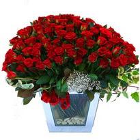 Konya online çiçekçi , çiçek siparişi   101 adet kirmizi gül aranjmani