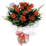 Konya çiçek online çiçek siparişi  9 adet güzel bir gül buketi