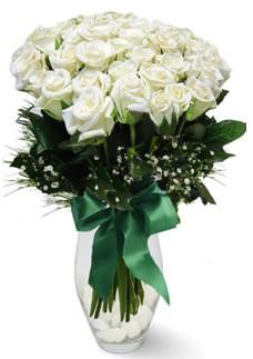 19 adet essiz kalitede beyaz gül  Konya online çiçekçi , çiçek siparişi