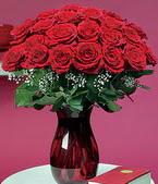 Konya hediye çiçek yolla  11 adet Vazoda Gül sevenler için ideal seçim