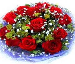 9 adet kirmizi güllerden buket  Konya anneler günü çiçek yolla