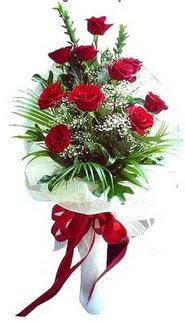 Konya çiçek servisi , çiçekçi adresleri  10 adet kirmizi gül buketi demeti