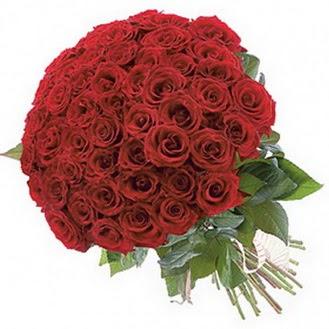 Konya çiçekçiler  101 adet kırmızı gül buketi modeli