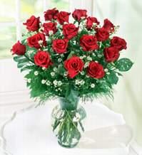 Konya yurtiçi ve yurtdışı çiçek siparişi  9 adet mika yada vazoda kirmizi güller
