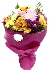 1 demet karışık görsel buket  Konya çiçek , çiçekçi , çiçekçilik