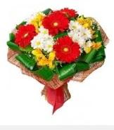 1 demet karışık buket  Konya ucuz çiçek gönder