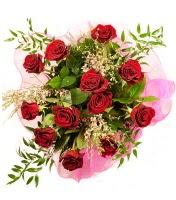 12 adet kırmızı gül buketi  Konya çiçek satışı