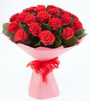 12 adet kırmızı gül buketi  Konya güvenli kaliteli hızlı çiçek