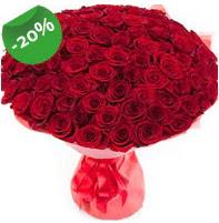 Özel mi Özel buket 101 adet kırmızı gül  Konya çiçek , çiçekçi , çiçekçilik