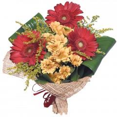 karışık mevsim buketi  Konya kaliteli taze ve ucuz çiçekler