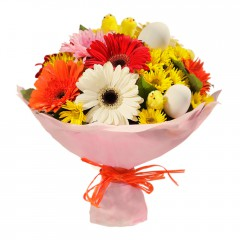 Karışık mevsim buketi Mevsimsel çiçek  Konya çiçek yolla , çiçek gönder , çiçekçi