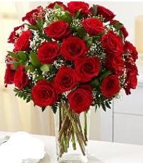 Vazo içerisinde 33 adet kırmızı gül  Konya çiçek yolla
