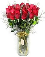 27 adet vazo içerisinde kırmızı gül  Konya cicek , cicekci