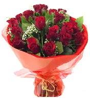 12 adet görsel bir buket tanzimi  Konya İnternetten çiçek siparişi