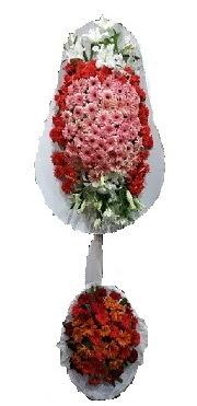 çift katlı düğün açılış sepeti  Konya yurtiçi ve yurtdışı çiçek siparişi