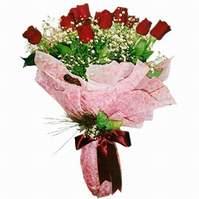 Konya güvenli kaliteli hızlı çiçek  12 adet kirmizi kalite gül