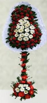 Konya yurtiçi ve yurtdışı çiçek siparişi  çift katlı düğün açılış çiçeği