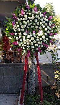 Konya çiçek yolla , çiçek gönder , çiçekçi   Cenaze Çelengi  Konya güvenli kaliteli hızlı çiçek