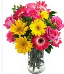 Vazoda Karışık mevsim çiçeği  Konya kaliteli taze ve ucuz çiçekler