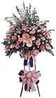 Konya çiçekçiler   Ferforje Pembe kazablanka