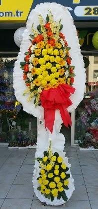 Çift katlı düğün nikah açılış çiçeği  Konya çiçekçiler