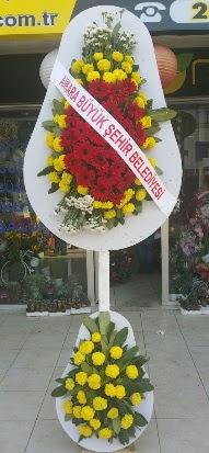 Çift katlı düğün nikah açılış çiçek modeli  Konya kaliteli taze ve ucuz çiçekler