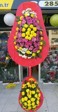 Çift katlı düğün nikah açılış çiçek modeli  Konya çiçek gönderme sitemiz güvenlidir