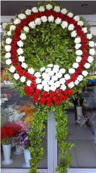 Cenaze çelenk çiçeği modeli  Konya çiçek , çiçekçi , çiçekçilik