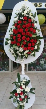 2 katlı nikah çiçeği düğün çiçeği  Konya 14 şubat sevgililer günü çiçek