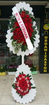 Çift katlı düğün nikah çiçeği modeli  Konya güvenli kaliteli hızlı çiçek