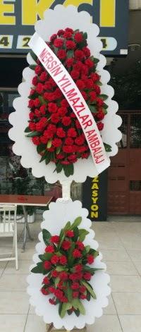 Çift katlı düğün nikah çiçeği modeli  Konya çiçek mağazası , çiçekçi adresleri