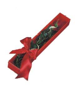 Konya hediye çiçek yolla  tek kutu gül sade ve sik