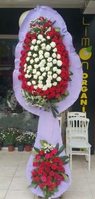 Çift katlı işyeri açılış çiçek modeli  Konya çiçek servisi , çiçekçi adresleri