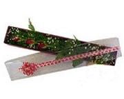 Konya çiçek mağazası , çiçekçi adresleri  3 adet gül.kutu yaldizlidir.