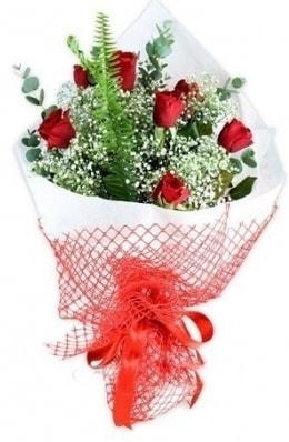 7 adet gülden kız arkadaşıma çiçek  Konya anneler günü çiçek yolla