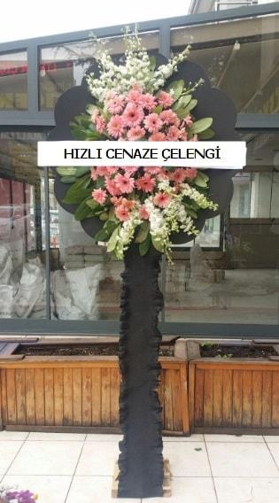 Hızlı cenaze çiçeği çelengi  Konya uluslararası çiçek gönderme