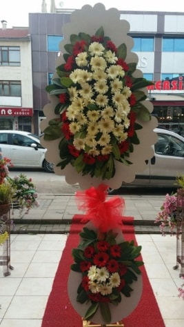Çift katlı düğün açılış çiçeği  Konya hediye sevgilime hediye çiçek