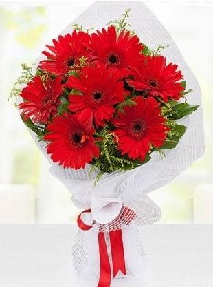Kırmızı Gelbera Buketi  Konya çiçek yolla , çiçek gönder , çiçekçi