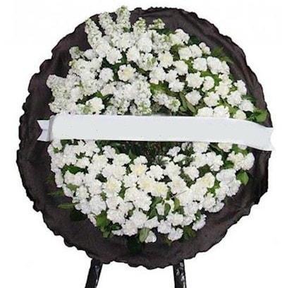 Cenaze çelengi çiçeği modelleri  Konya yurtiçi ve yurtdışı çiçek siparişi