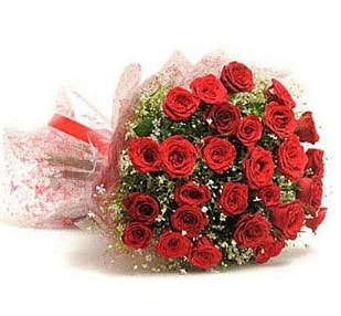 27 Adet kırmızı gül buketi  Konya çiçek servisi , çiçekçi adresleri