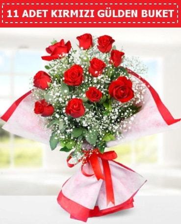 11 Adet Kırmızı Gül Buketi  Konya çiçek yolla , çiçek gönder , çiçekçi